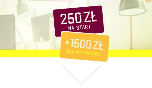 Rachunek firmowy 4x4 w Alior Banku z premią 250 zł oraz bonusem do 1500 zł za aktywne korzystanie z konta.
