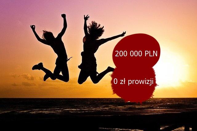 Kredyt gotówkowy w Getin Banku do 200 000 PLN z 0% prowizją bankową. Szybki proces kredytowy.